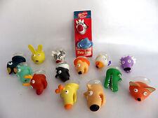 Rare figurine animaux porte trucs CORA goodies lot de 15 personnages