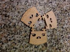 Puente de violín 3/4 Madera Mapel de calidad (Bob vendedor del Reino Unido)