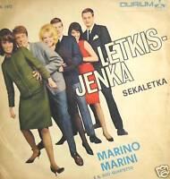 """PROMO  MARINO MARINI E IL SUO QUARTETTO PROMO LETKIS-JENKA 7"""""""