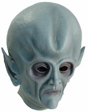 Head Mask - Rubber Grey Alien Head