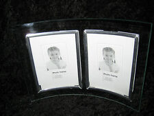 OVAL SHAPED PHOTO FRAME W' 2 PLACES FOR PICS
