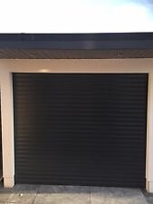 Anthracite Grey Ral 7016 Insulated Electric Rollerdor Garage Modern Fitted Auto