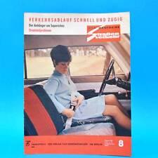 Der Deutsche Straßenverkehr 8/1968 DDR Saporoshez Pannonia Fiat Sachsenring G