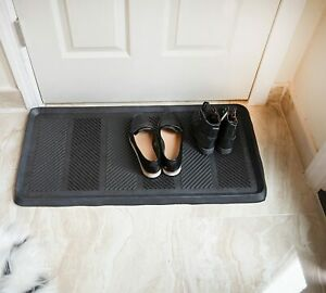 Rubber Tray Large Heavy Duty Multifunctional Mat for Dog Bowls Store Boot Shoes