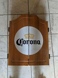 New NOS Corona Beer Dart Cabinet Board Darts Complete Display