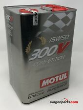 Aceite Motor Carreras Sport Tuning, MOTUL 300V Competition 15W-50, 5 Litros