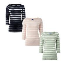 Tom Tailor Shirt mit Streifenmuster und Zierstreifen Damen T-Shirt NEU