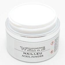 "PROFI Acryl-Pulver weiß ""NAIL1EU White"" 50ml/41g Acryl-Puder Acryl Powder Pulver"