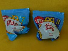 1998 McDonald's Furbies (Furby) Set of TWO (2) #7 & #8 BRAND NEW Factory sealed
