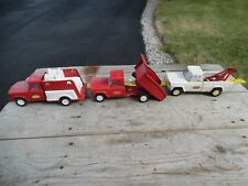 Vtg TONKA Pressed Steel Jeep Fire Truck Dump Wrecker Tow Save Shipping BULK BUY