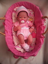 Reborn Rebornpuppe Tragekörbchen Puppe Babypuppe Rebornbaby Berenguer Puppenbaby