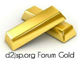 D2JSP 2000 FG  ForumGold *Trustly Seller*