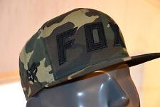Fox Posessed Snapback Hat Parasol Gorra Camuflaje Verde Unitalla Ajustable