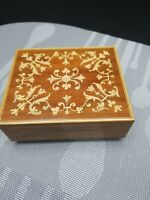 vintage reuge music box swiss musical movement made in Switzerland Collectible