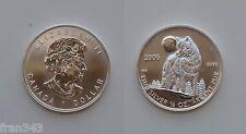 CANADA 1 dolar dollar 1/2 oz 2006 WOLF KM 718  UNC