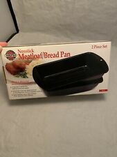 Norpro 4672 Nonstick Meat Loaf/Bread Pan 2p Set FREE SHIPPING!!