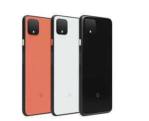 Google Pixel 4 / 4XL 64GB Black White Fully Unlocked Network A+++