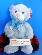 Ty Classic Blue Sweet Baby Bear 2014 plush(310-2084)