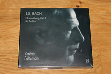 J.S. BACH Clavierübung Part 1 I Vladimir Feltsman Six Partitas CD 2002 NEU! RARE
