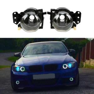 Pair Front Bumper Fog Lights Lamp Housing For BMW E90 M3 335xi 335i 330Ci 328i