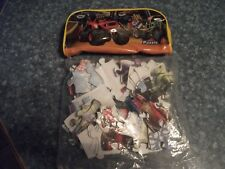 toy AVENGERS ACTION  FIGURES PUZZLE & CARS PUZZLE WITH  BAG  1X823