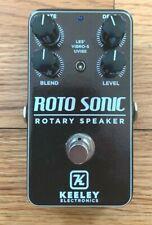 Keeley Roto Sonic 2021 Limited Edition Custom Shop Rotary Speaker Rotosonic
