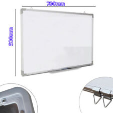 700 X 500MM Office School Magnetic Dry Whiteboard Drawing Memo Notice Board UKED