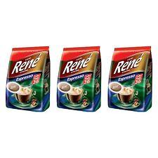 Philips Senseo 108 x Café Rene Cremé Espresso Roast Coffee Pads Pods Bag