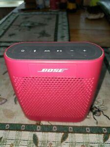 Bose SoundLink Color Portable Speaker Red 415859