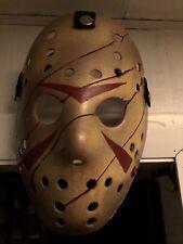 Custom Painted Freddy Vs Jason Hockey Mask