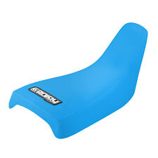 Yamaha PW 50 PW50 Seat Cover High Traction Gripper Style by Enjoy Mfg  LT Blue