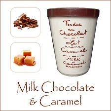 LUSSO Cioccolato Fonduta da AUX anysetiers du Roy-Cioccolato al Latte & Caramello