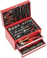 Mannesmann M29066 - Caja de herramientas equipada con 155 piezas Con 2 cajones