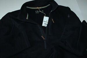 Smartwool Hudson Trail Fleece Wool Half Zip Sweater Navy Blue New Extra Large XL