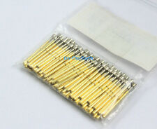 100 Pieces P75-H3 Dia 1.02mm Spring Test Probe Pogo Pin