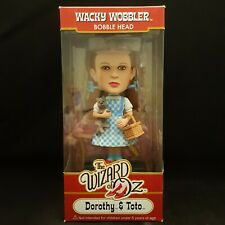 FUNKO THE WIZARD OF OZ DOROTHY AND TOTO CHASE PIECE WACKY WOBBLER BOBBLE HEAD