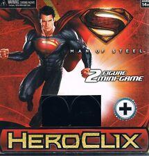 Superman: Man of Steel HeroClix 2 Figure Mini Game 2013 WizKidz NECA