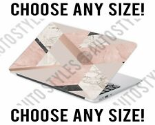 Geometric Shape Marble Laptop Skin Decal Sticker Tablet Skin Vinyl Cover