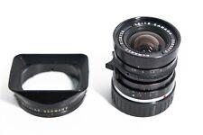 Leica M 28mm f/2.8 LensELMARIT-MLeitz Canada ver. II 1978 w/ original hood