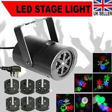 LED Stage Light Laser Light Projector For Disco Lightning Xmas Party RGB UK Plug