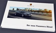 Porsche-panamera diesel-P 'rospekt brochure 4/2013 - nuevo
