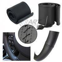 Funda de volante en cuero real para Bmw E46 Cabrio Coupé aguja e hilo incluidos