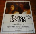 AFFICHE CINEMA 120 X 160 1976 BARRY LINDON RYAN O'NEAL BERENSON STANLEY KUBRICK