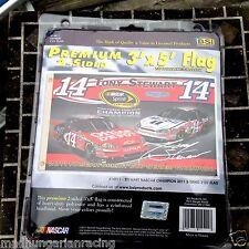 TONY STEWART 2011 NASCAR SPPRINT CUP CHAMPIONSHIP 2 SIDED 3'X5' FLAG BSI NIP