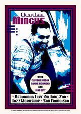 Charles Mingus Jazz Workshop / Sf 1964 17x24 litho restoration by Dennis Loren