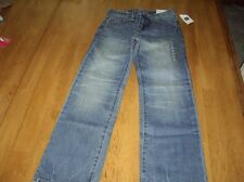 NWT Girls Size 8 slim Gap Kids 1969 Classic Jeans Adjustable Waist