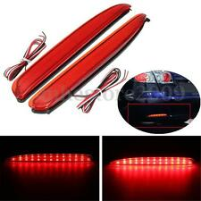 2x 24 LED Rear Bumper Reflector Tail Brake Stop Turning Light For Mazda 6 03-08