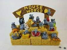 P. Chiari Paolo Lot Mouse World Mice Collection Figures Figurines Cute Funny
