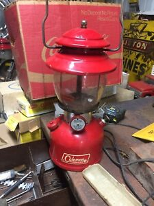 1966 RED COLEMAN 200A SUNSHINE OF THE NIGHT LANTERN 200
