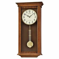 *BRAND NEW* Seiko Wood Pendulum Wall Clock QXH064BLH